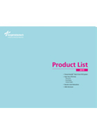 2019 Product List